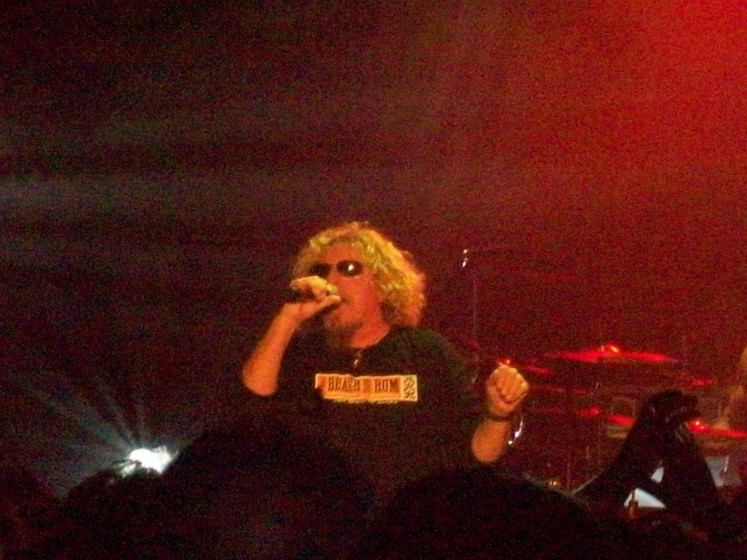 chickenfoot lake tahoe may 2012