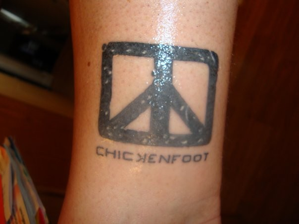 and my Chickenfoot tattoo