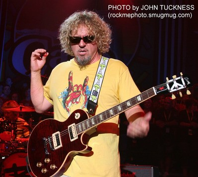 "SAMMY HAGAR and the WABOS ""ROCK"" South Lake Tahoe"