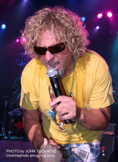 "Sammy Hagar ""ROCKS"" Tahoe (again)"