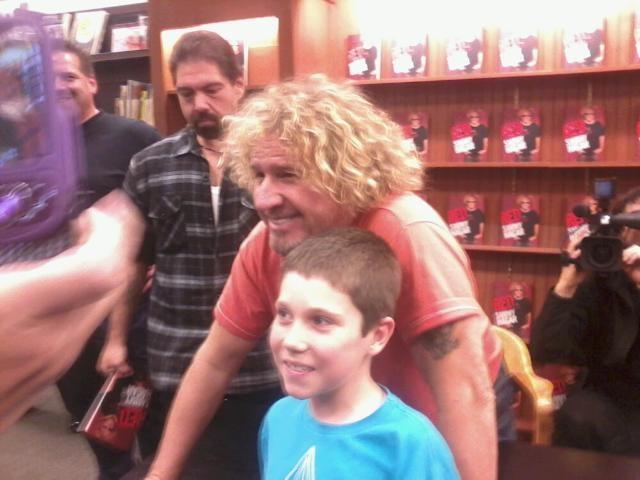 Sammy Book Signing Roseville, CA