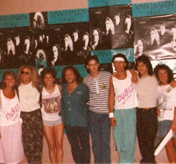 Van Halen Backstage 1988