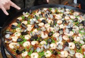 Paella on the Patio at El Paseo!