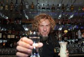 Sammy's Beach Bar Rum @  Vegas Cabo Wabo Cantina!