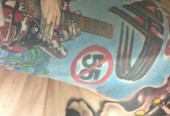 My Sammy/VH tattoos