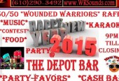 New Years Eve, Party at The Depot Bar in Bridgeport, PA...