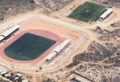 Cabo football and soccer stadiums.