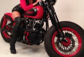 Red Rocker photo shoot for Born to Ride Magazine 