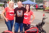 Bike night at Hogan's beach in Tampa with the franatics