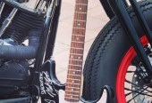 RED ROCKER Tribute Bike to Sammy Hagar is on E-bay for Auction