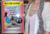 "Signed by both Sammy and author Pat Walker, a few copies of ""Dance of the Electric Hummingbird"" to be sold in Tahoe"