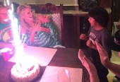 Kari's Surprise Birthday Last Night