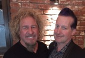 Fantastic El Paseo dinner with Tre Cool & Randall Graham PLUS lots of wine!