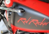 Red Rocker Tribute Bike to Sammy Hagar