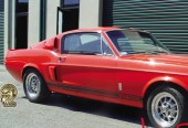 This Is One Red Hot Mustang