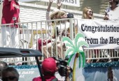 Sammy as Grand Marshal at Fontana Days 100th Anniversary Parade