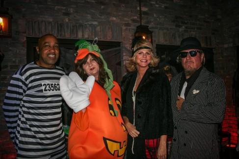 Sammy and Kari's Halloween Party at El Paseo