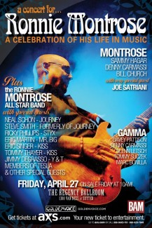 Rockin for Ronnie Montrose to Celebrate his Life..RIP Friend..<3