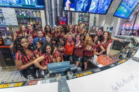 Redrocker Bar and Grill Opening Ceremony at Southland Park