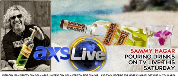 Join me LIVE on AXS TV this weekend from Vegas!