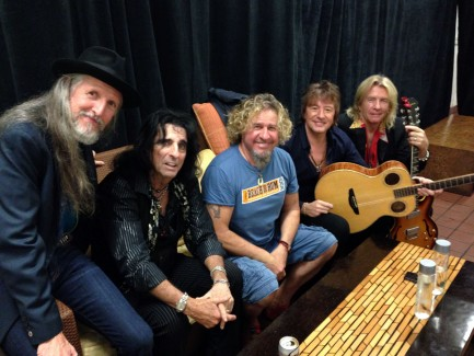 Ringing In The New Year with Alice Cooper, Steven Tyler, Richie Sambora and more for the Maui Food Bank!