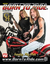 Born to Ride Magazine May 2013