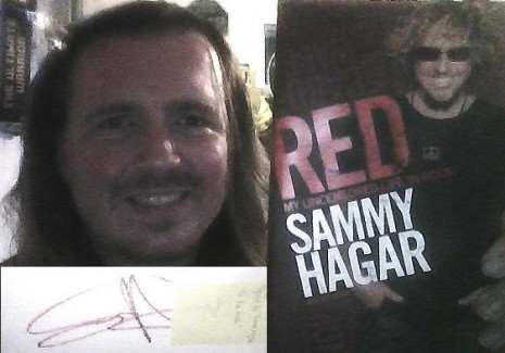 Me & My SAMMY HAGAR BOOK: RED - My Uncensored Life In Rock
