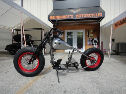 Red Rocker Project Bike