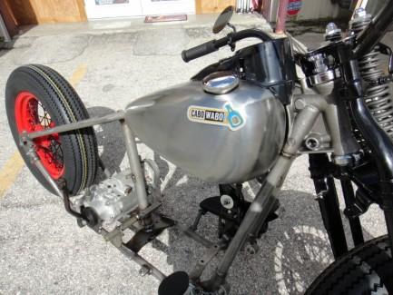 Red Rocker Project Bike