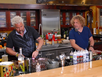 Photos from recording of Guy Fieri's Big Bite TV show!