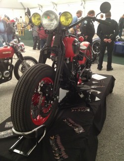 Red Rocker is in the show at Quaker Steak & Lube