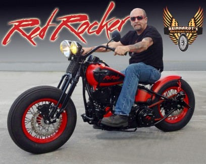 RED ROCKER is going to Daytona for the show.