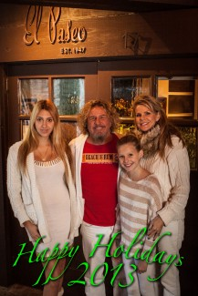 Happy Holidays from the Hagar family!