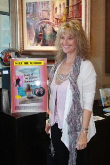 """Signed by both Sammy and author Pat Walker, a few copies of """"Dance of the Electric Hummingbird"""" to be sold in Tahoe"""