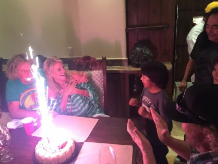 Kari's Surprise Birthday Last Night