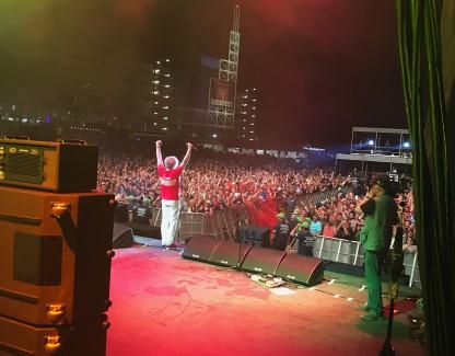 Great last night at Rockfest in Kansas City