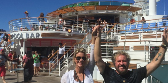 Sammy on the Rock Legends Cruise (Photos)