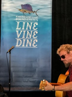 Emeril's Line, Vine & Dine Fundraiser + Surprise visit by Kenny Chesney and Zac Brown!