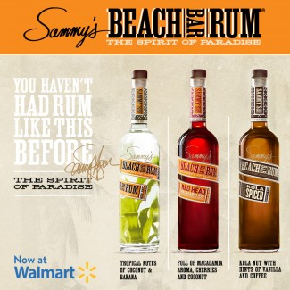 Sammy's Beach Bar Rum now at Walmart!