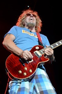 Red & Gone ... Sammy Hagar Rocks Lake Tahoe @ Beach Bar Rum Bash