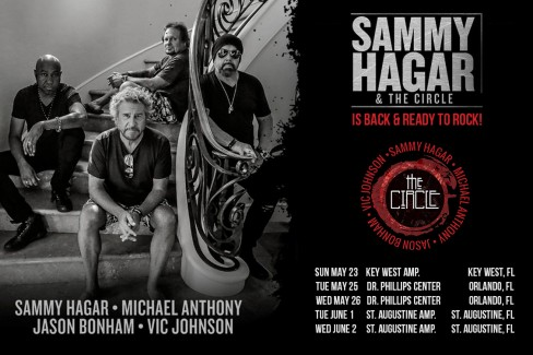 Sammy & The Circle are heading back on the road!