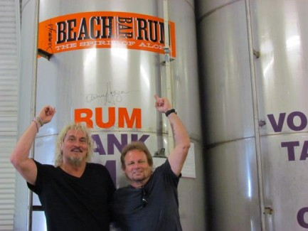 Special Guest News: Mike Anthony Visits Sammy's Rum Distillery on Maui