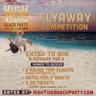 Win a Trip to Sammy's High Tide Beach Party & Car Show