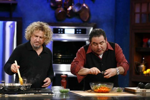 Sammy Kicks it Up a Notch on the Emeril Show on June 6th