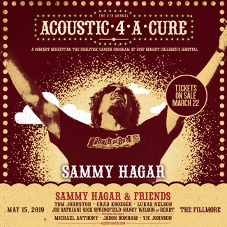 Acoustic-4-A-Cure at The Fillmore SF Tickets On Sale TODAY!
