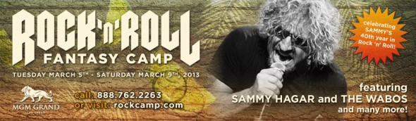 Sammy Returns to Rock 'n' Roll Fantasy Camp