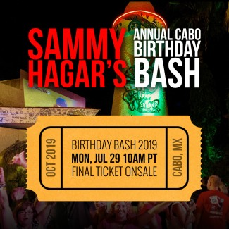 Birthday Bash Last Ticket Onsale July 29th!