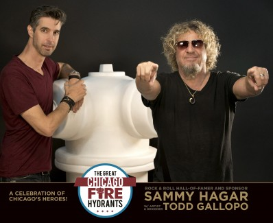 """SAMMY'S TIKI-BANK HYDRANT FOR """"THE GREAT CHICAGO FIRE HYDRANTS"""""""