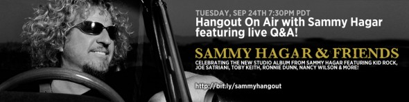 Hangout on Air with Live Q&A Tuesday 9/24 7:30pm PDT!