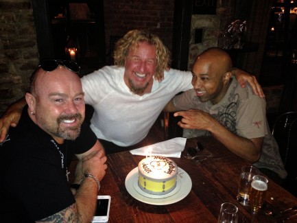 Triple Birthday Celeb - Jason Bonham, Vic Johnson, Joe Satriani